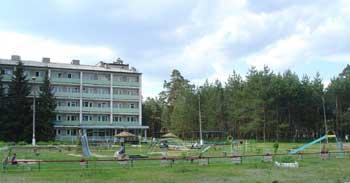 Святогорск. Санаторий Святые Горы вСвятогорске