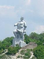 Святогорский колосс — памятник Артему