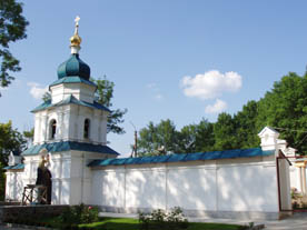 Церковь Антония и Феодосия Киево-Печерских.